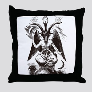 Sabbat Goat Throw Pillow