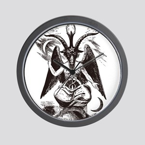 Sabbat Goat Wall Clock