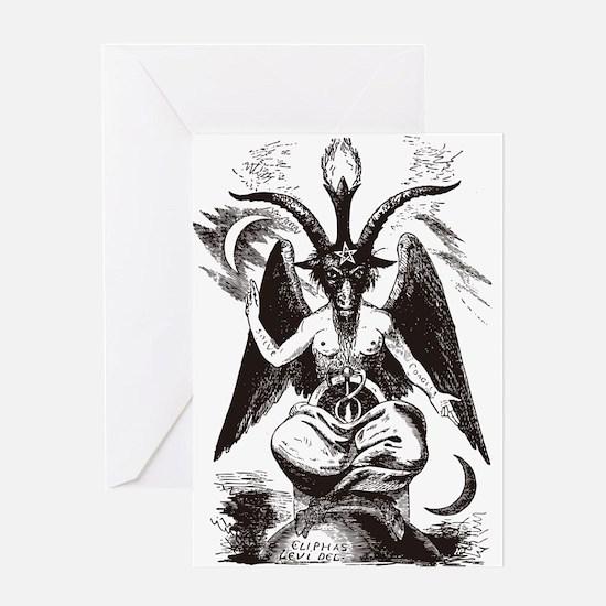 Sabbat Goat Greeting Card