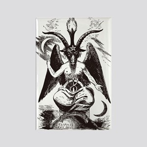 Sabbat Goat Rectangle Magnet