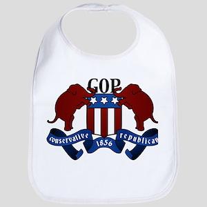 GOP Coat of Arms Bib