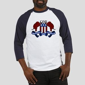 GOP Coat of Arms Baseball Jersey