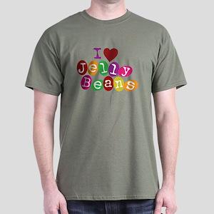 I Love Jellybeans Dark T-Shirt