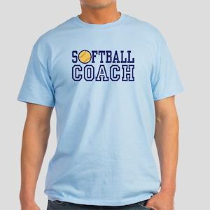 Softball Coach Light T-Shirt