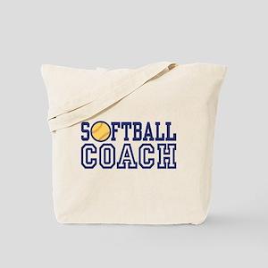 Softball Coach Tote Bag