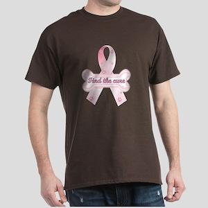 Pink Dog Bone Dark T-Shirt