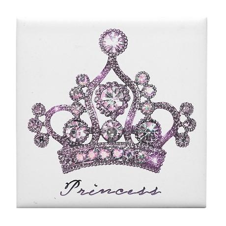 """Princess"" Tile Coaster"