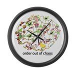 Order out of Chaos (complexit Large Wall Clock