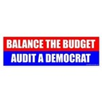 Balance The Budget, Audit A Democrat