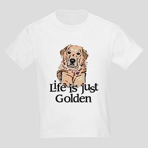 Life is Just Golden Kids Light T-Shirt