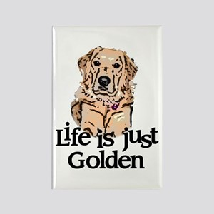 Life is Just Golden Rectangle Magnet