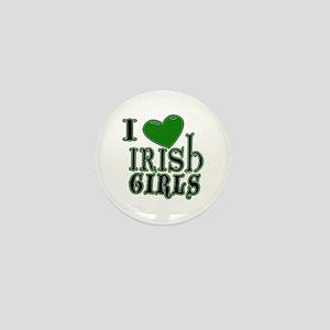 Love Irish Girls Mini Button