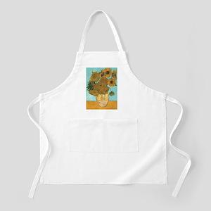 Van Gogh Vase with Sunflowers Apron