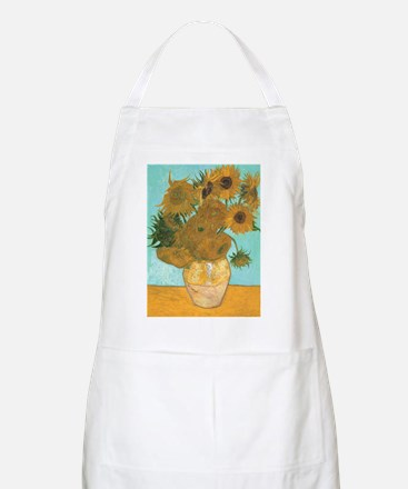Van Gogh Vase with Sunflowers Apron