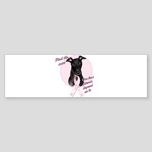 Pink Bumper Sticker