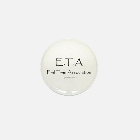 Evil Twin Association Mini Button