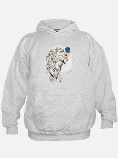 Rearing Pegasus Stallion Hoodie