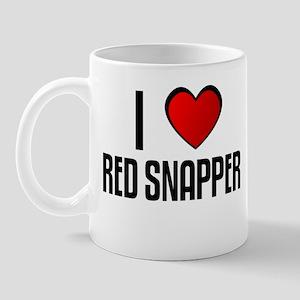 I LOVE RED SNAPPER Mug