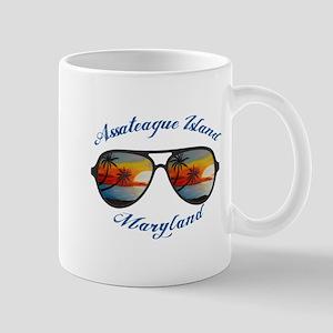 Maryland - Assateague Island Mugs