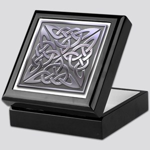 4 Square - silver Keepsake Box