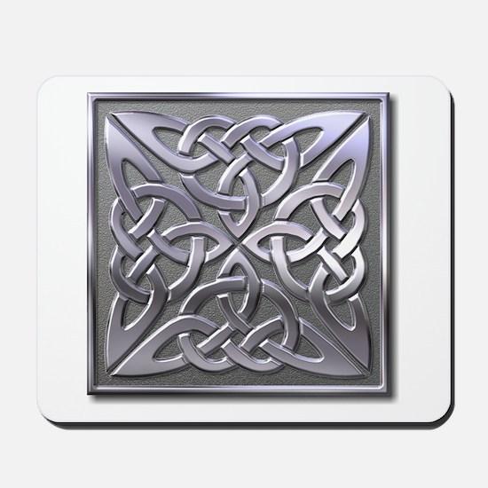 4 Square - silver Mousepad