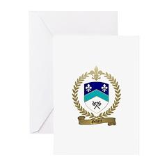 GILBERT Family Crest Greeting Cards (Pk of 10)