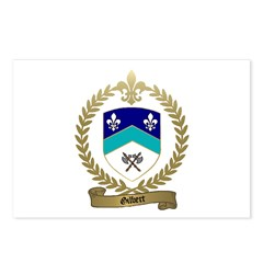 GILBERT Family Crest Postcards (Package of 8)