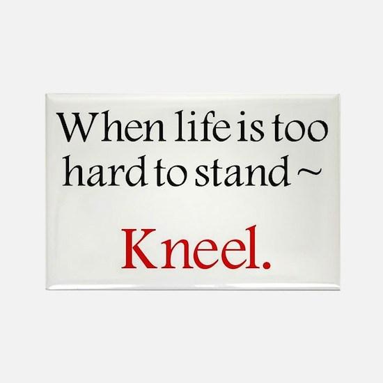 kneel 2 copy Magnets
