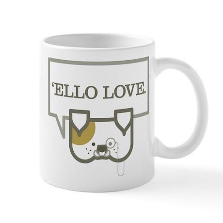 ElloBulldog Mugs