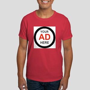 ADVERTISE HERE Dark T-Shirt