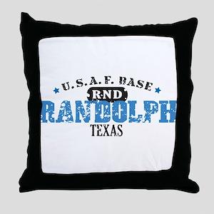Randolph Air Force Base Throw Pillow