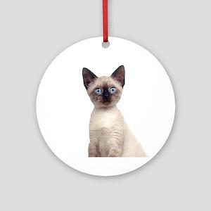 Siamese Ornament (Round)