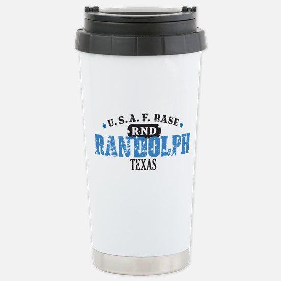 Randolph Air Force Base Stainless Steel Travel Mug