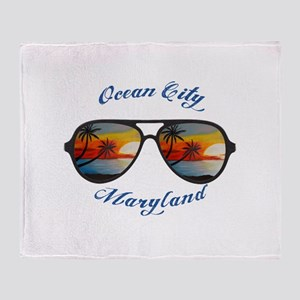 Maryland - Ocean City Throw Blanket