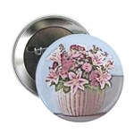 "2.25"" Floral Basket Button (100 pack)"