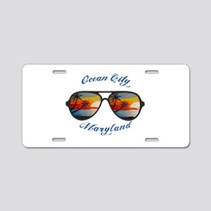 Maryland - Ocean City Aluminum License Plate