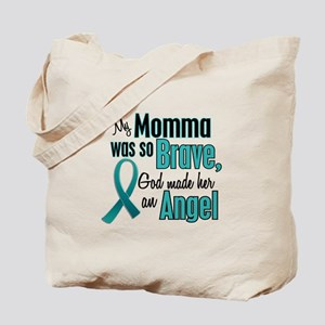 Angel 1 TEAL (Momma) Tote Bag
