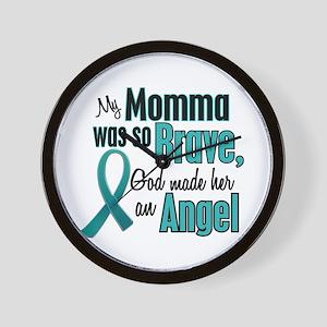 Angel 1 TEAL (Momma) Wall Clock