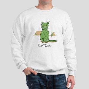 """Funny """"Catcus"""" Cactus Sweatshirt"""