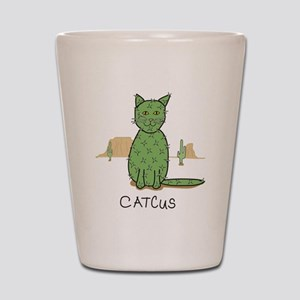 "Funny ""Catcus"" Cactus Shot Glass"