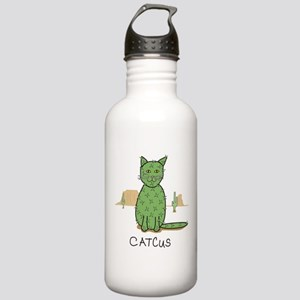 """Funny """"Catcus&quo Stainless Water Bottle 1.0L"""
