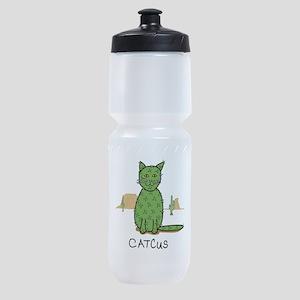 "Funny ""Catcus"" Cactus Sports Bottle"