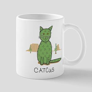 """Funny """"Catcus"""" Cactus Mugs"""