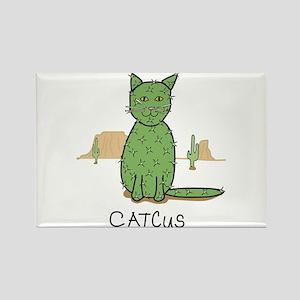 """Funny """"Catcus"""" Cactus Magnets"""