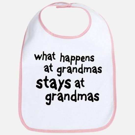 What Happens At Grandma's Bib