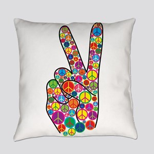 Peace Everyday Pillow