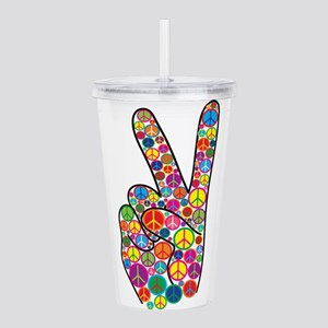 Peace Acrylic Double-wall Tumbler