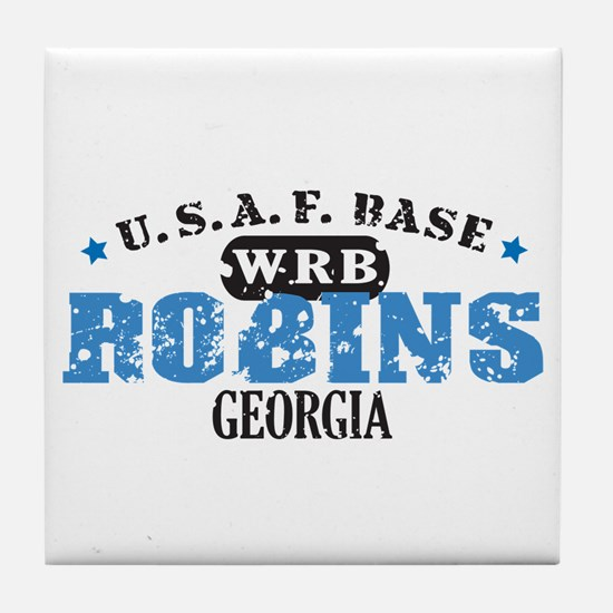 Robins Air Force Base Tile Coaster