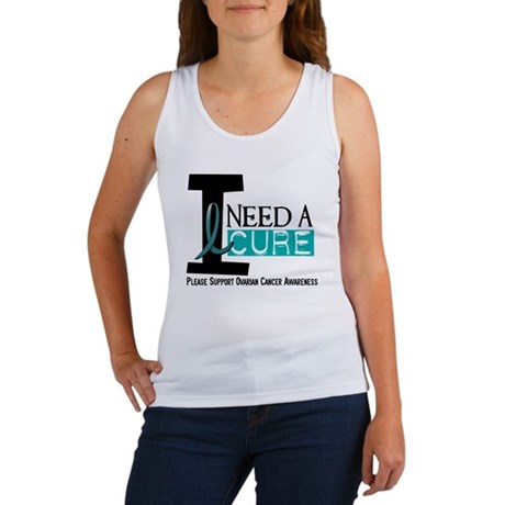 I Need A Cure OVARIAN CANCER Women's Tank Top