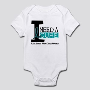 I Need A Cure OVARIAN CANCER Infant Bodysuit